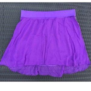 Aeropostale High-Low Knee Skirt Size XL/TG